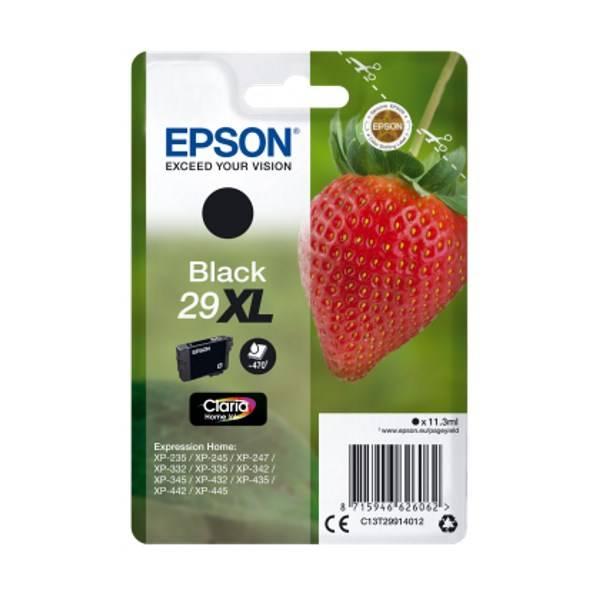 Inkoustová náplň Epson T29XL, 470 stran (C13T29914010) černá