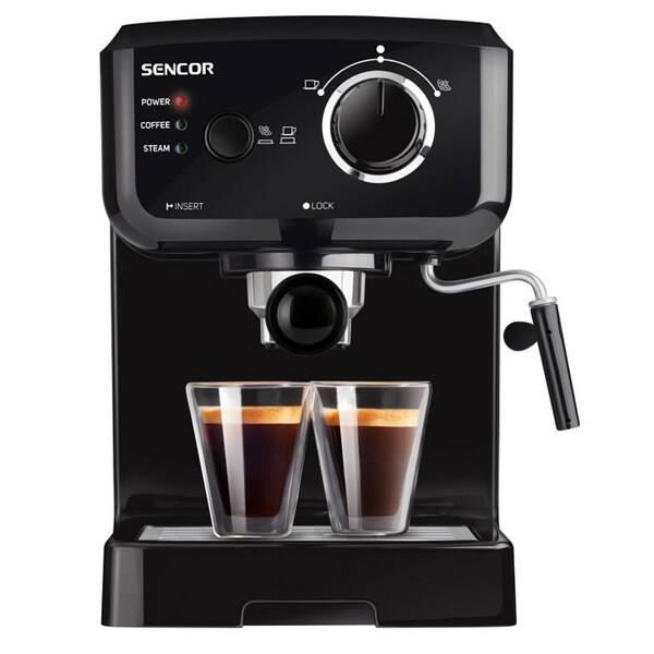 Espresso Sencor SES 1710BK černé (poškozený obal 8800702270)