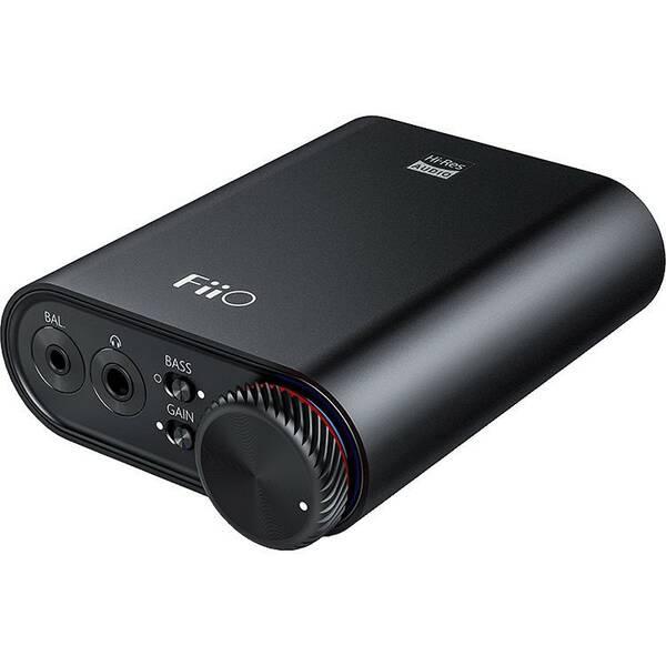 Sluchátkový zesilovač FiiO K3 a USB-C D/A převodník černý (vrácené zboží 8800669082)