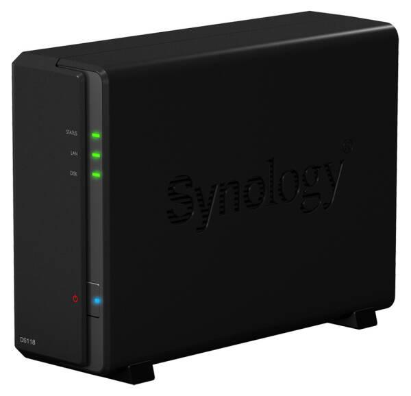 Datové uložiště (NAS) Synology DS118 (DS118) černé