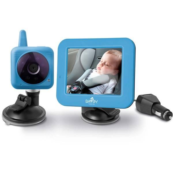 Dětská elektronická chůva BAYBY BBM 7030 digitální video modrá