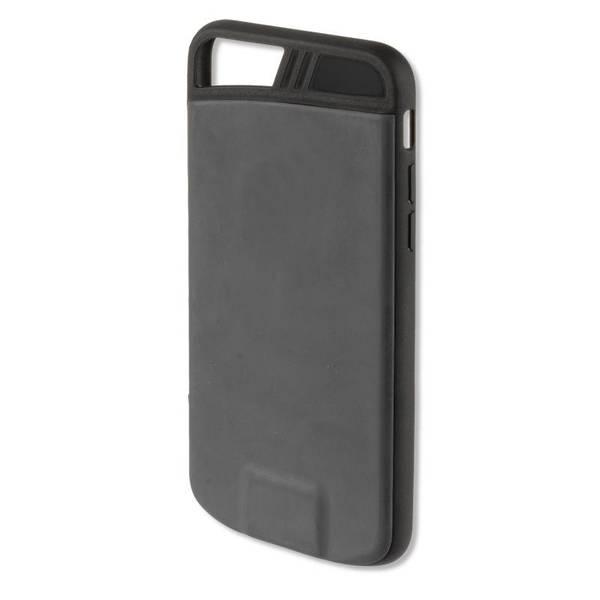 Kryt na mobil 4smarts pro bezdrátové dobíjení iPhonu 7/6s/6 (MP462771) černý (vrácené zboží 8800311675)