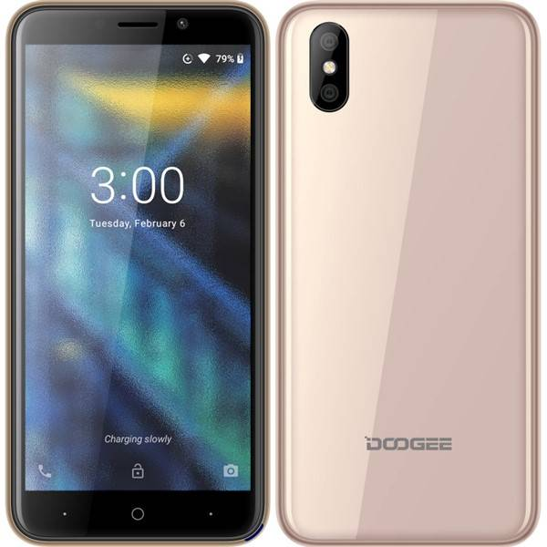 Mobilný telefón Doogee X50L Dual SIM (DGE000154) zlatý