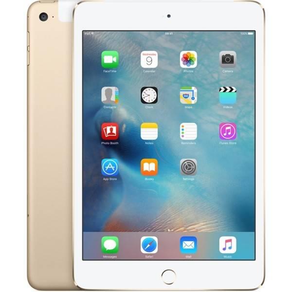 Dotykový tablet Apple iPad mini 4 Wi-Fi+Cellular 128 GB - Gold (mk782fd/a)