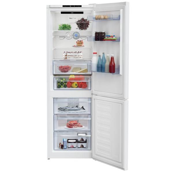 Chladnička s mrazničkou Beko RCNA366I30W bílá