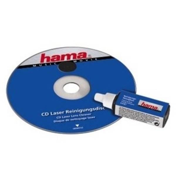Čisticí CD, DVD, miniDV Hama dry/wet 1ks (44733)