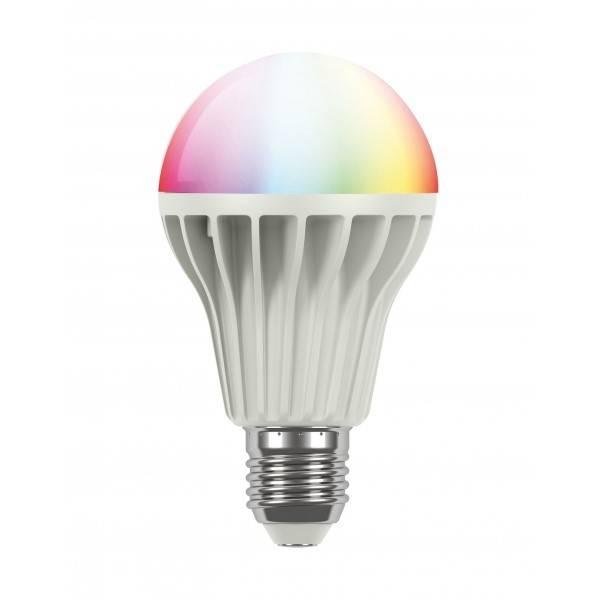 Bezdrátová žárovka iNELS RF-RGB-LED-550 barevná (RF-RGB-LED-550) bílá