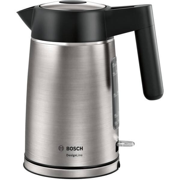 Rychlovarná konvice Bosch DesignLine TWK5P480 černá/nerez