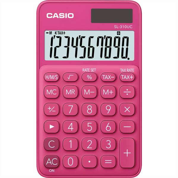 Kalkulačka Casio SL 310 UC RD červená