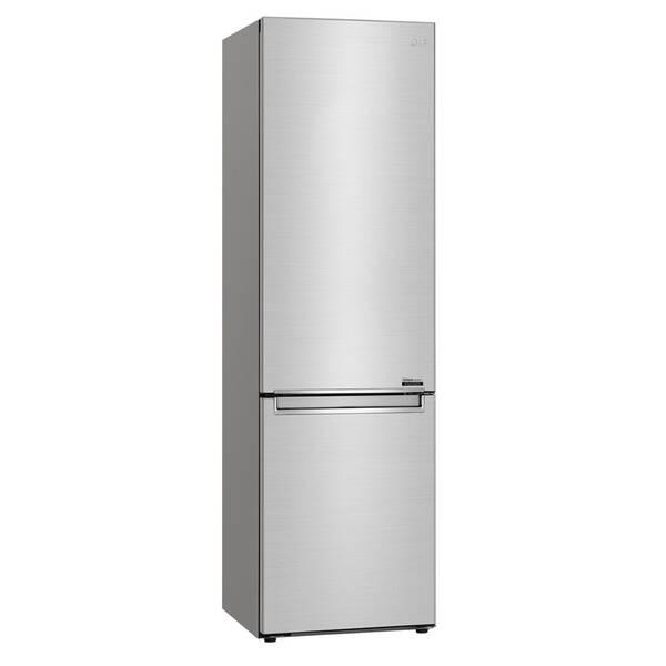 Kombinácia chladničky s mrazničkou LG GBB92STBAP strieborná