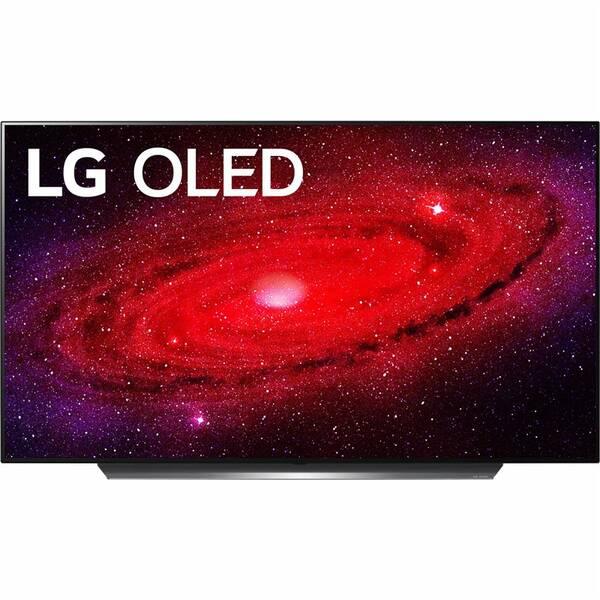 Televize LG OLED55CX stříbrná