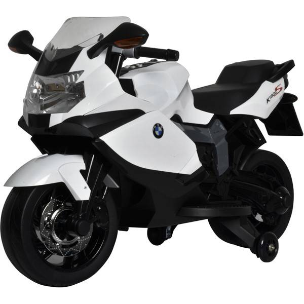 Elektrická motorka Buddy Toys BEC 6010 BMW K1300 černá/bílá (vrácené zboží 8800139128)