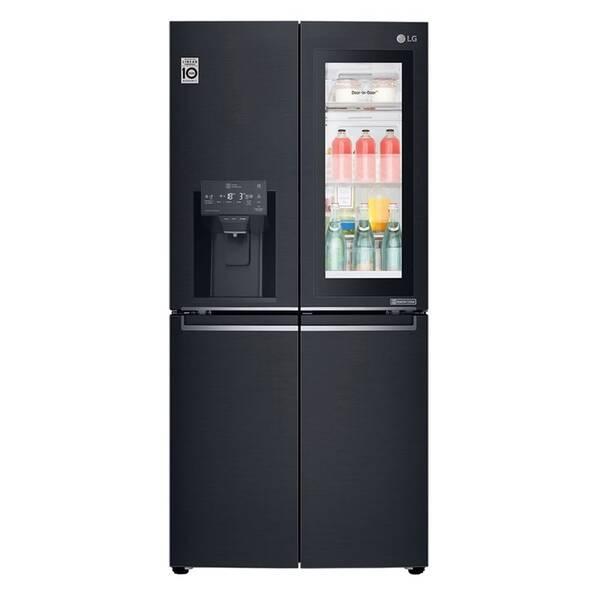 Americká chladnička LG GMX844MCKV čierna