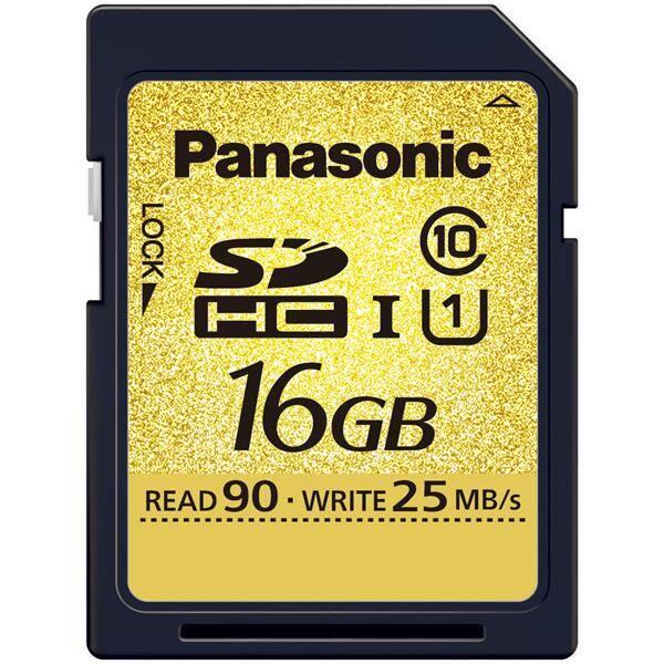 Paměťová karta Panasonic RP-SDU16GE1K, 16GB černá