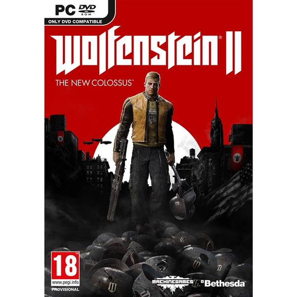 Hra Bethesda PC Wolfenstein II The New Colossus (5055856416623)