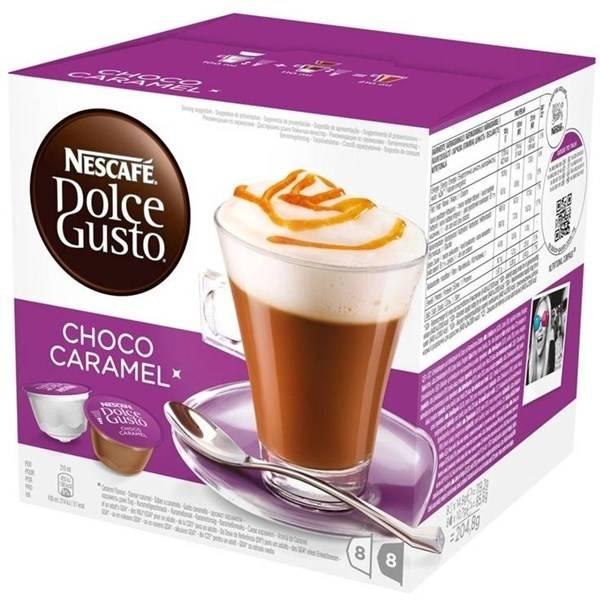 Kapsule pre espressa Nescafé Dolce Gusto CHOCO CARAMEL