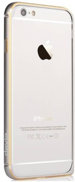 Kryt na mobil devia pro Apple iPhone 6 Plus/6s Plus (ALBUMPCIP6LS) strieborný