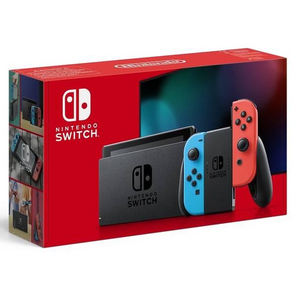 Herná konzola Nintendo Switch s Joy-Con v2 (NSH006) červená/modrá