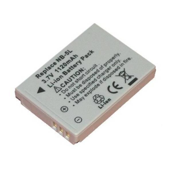 Baterie Avacom Canon NB-5L Li-ion 3,7V 1120mAh (DICA-NB5L-734)