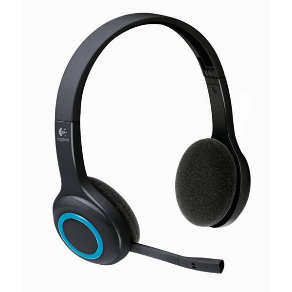Headset Logitech Wireless H600 (981-000342) čierny
