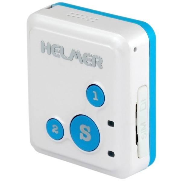 GPS lokátor Helmer LK 503 s obousměrnou komunikací pro sledování osob, zavazdel (Helmer LK 503)