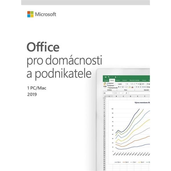 Software Microsoft Office 2019 pro domácnosti a podnikatele CZ (T5D-03195)