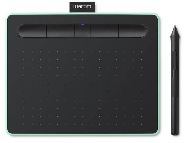 Tablet Wacom Intuos S Bluetooth  - pistáciový (CTL-4100WLE)