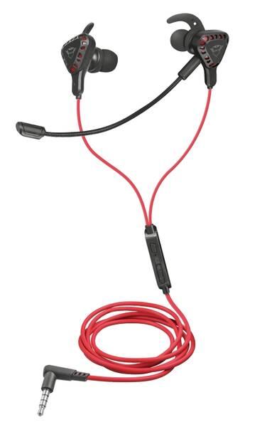 Headset Trust GXT 408 Cobra (23029) černý/červený