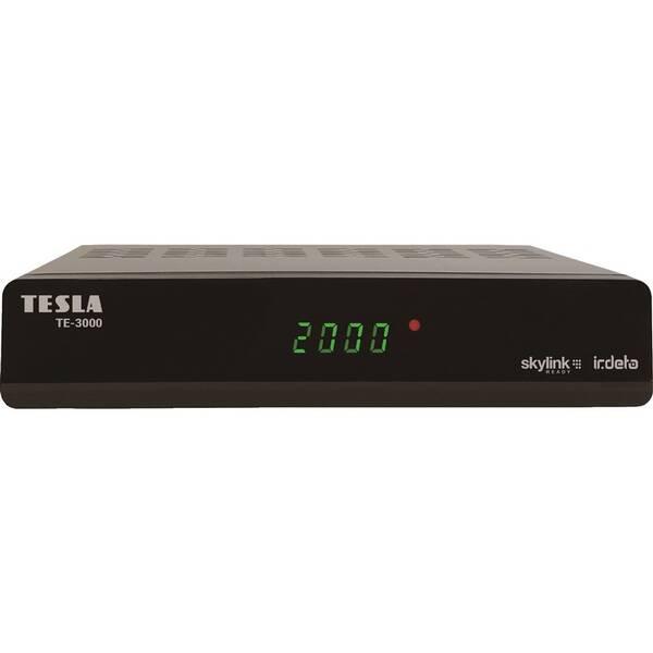 Satelitný prijímač Tesla TE-3000 čierny