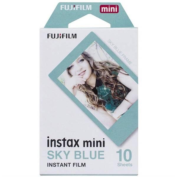Instantní film Fujifilm Instax Mini Sky Blue Frame 10ks