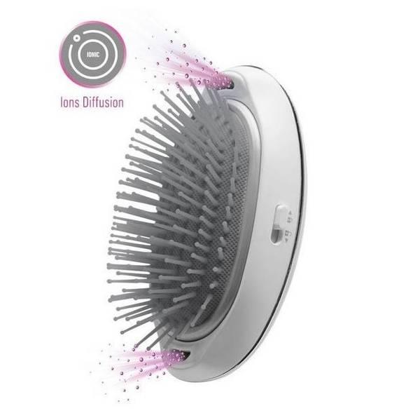 Ionizační kartáč Lanaform Silky Hair Brush šedá (vrácené zboží 8800276037)
