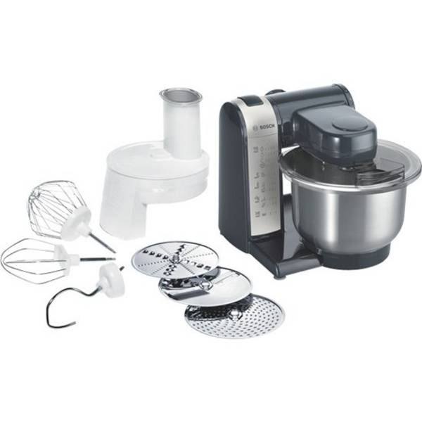 Kuchyňský robot Bosch MUM48A1 černý/stříbrný