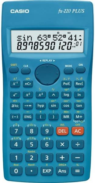 Kalkulačka Casio FX 220 PLUS modrá