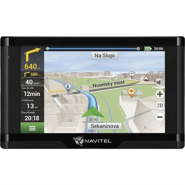 Navigační systém GPS Navitel E500 Magnetic, Lifetime (C2047039) černá