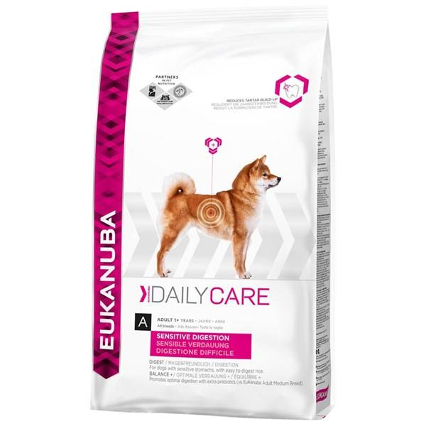 Granule Eukanuba Daily Care Sensitive Digestion 12,5 kg