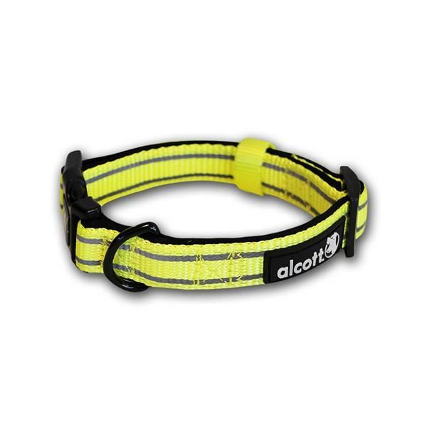 Obojok Alcott reflexní S 25-35cm neon žltý