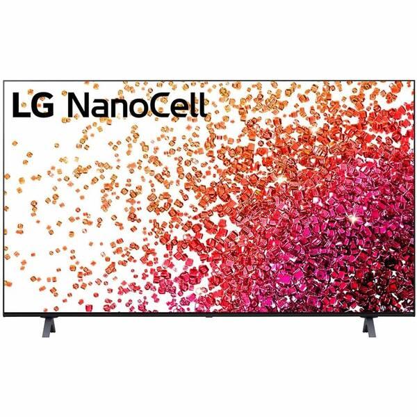 Televize LG 65NANO75P šedá