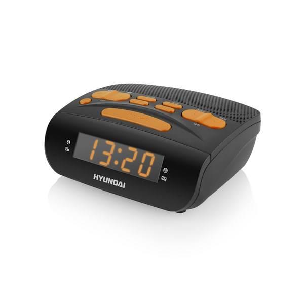 Radiobudík Hyundai RAC518PLLBO černý/oranžový