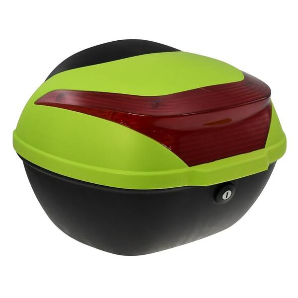 Zadní kufr k elektrickému motocyklu RACCEWAY E-BABETA, zelený