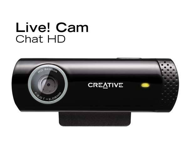 Webkamera Creative Labs Live! Cam Chat (73VF070000001) černá