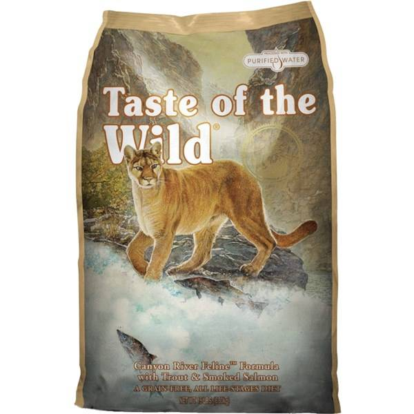 Granule Taste of the Wild Canyon River Feline 7 kg