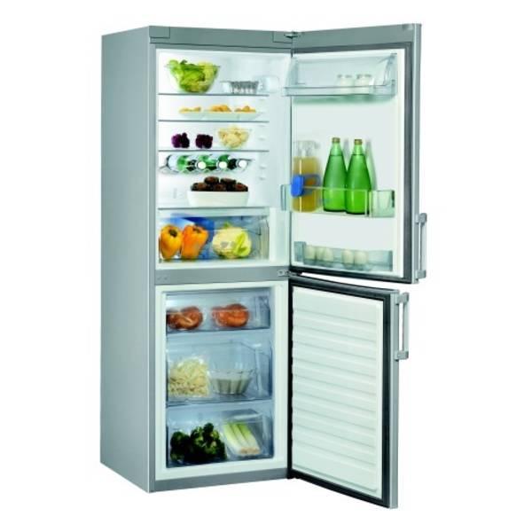 Kombinace chladničky s mrazničkou Whirlpool WBE31162 TS ocel