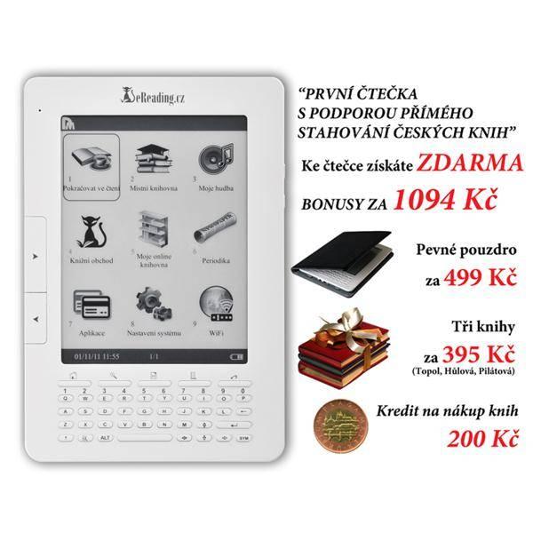 Čtečka e-knih eReading.cz First Edition EB6000