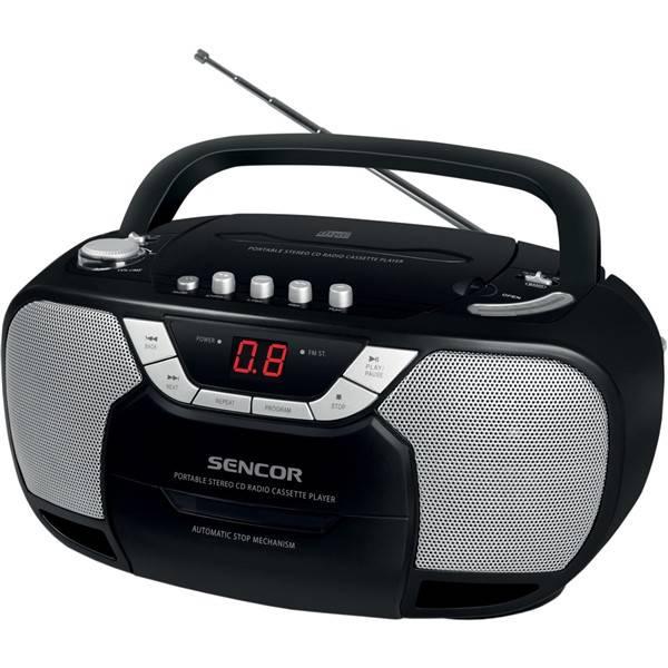 Radiopřijímač s CD Sencor SPT 207 černý (vrácené zboží 8800294229)