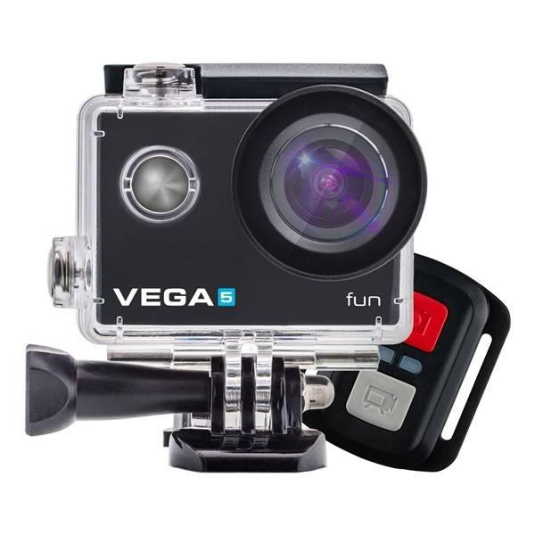 Outdoorová kamera Niceboy VEGA 5 fun + dálkové ovládání černá (vrácené zboží 8800437281)