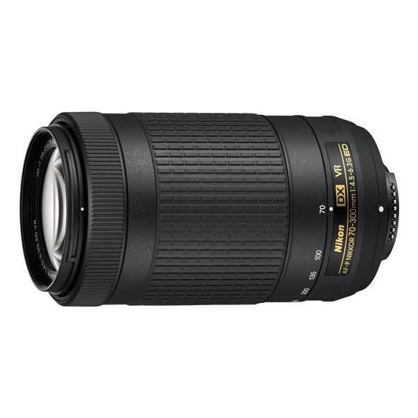 Objektív Nikon NIKKOR 70-300 mm F/4.5-6.3G ED AF-P DX VR (JAA829DA) čierny