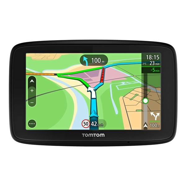 Navigačný systém GPS Tomtom VIA 53 Europe LIFETIME mapy (1AL5.002.00) čierna