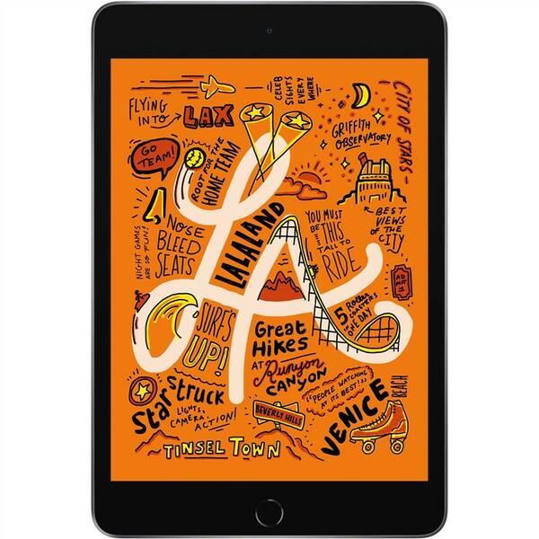 Dotykový tablet Apple iPad mini (2019) Wi-Fi 64 GB - Space Gray (MUQW2FD/A)