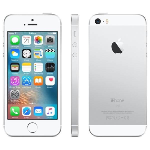 Mobilní telefon Apple iPhone SE 64 GB - Silver (MLM72CS/A) (vrácené zboží 8800192695)