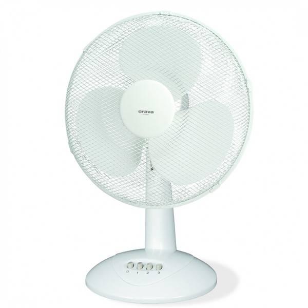 Ventilátor stolní Orava SF-12 A bílý (vrácené zboží 8800268405)